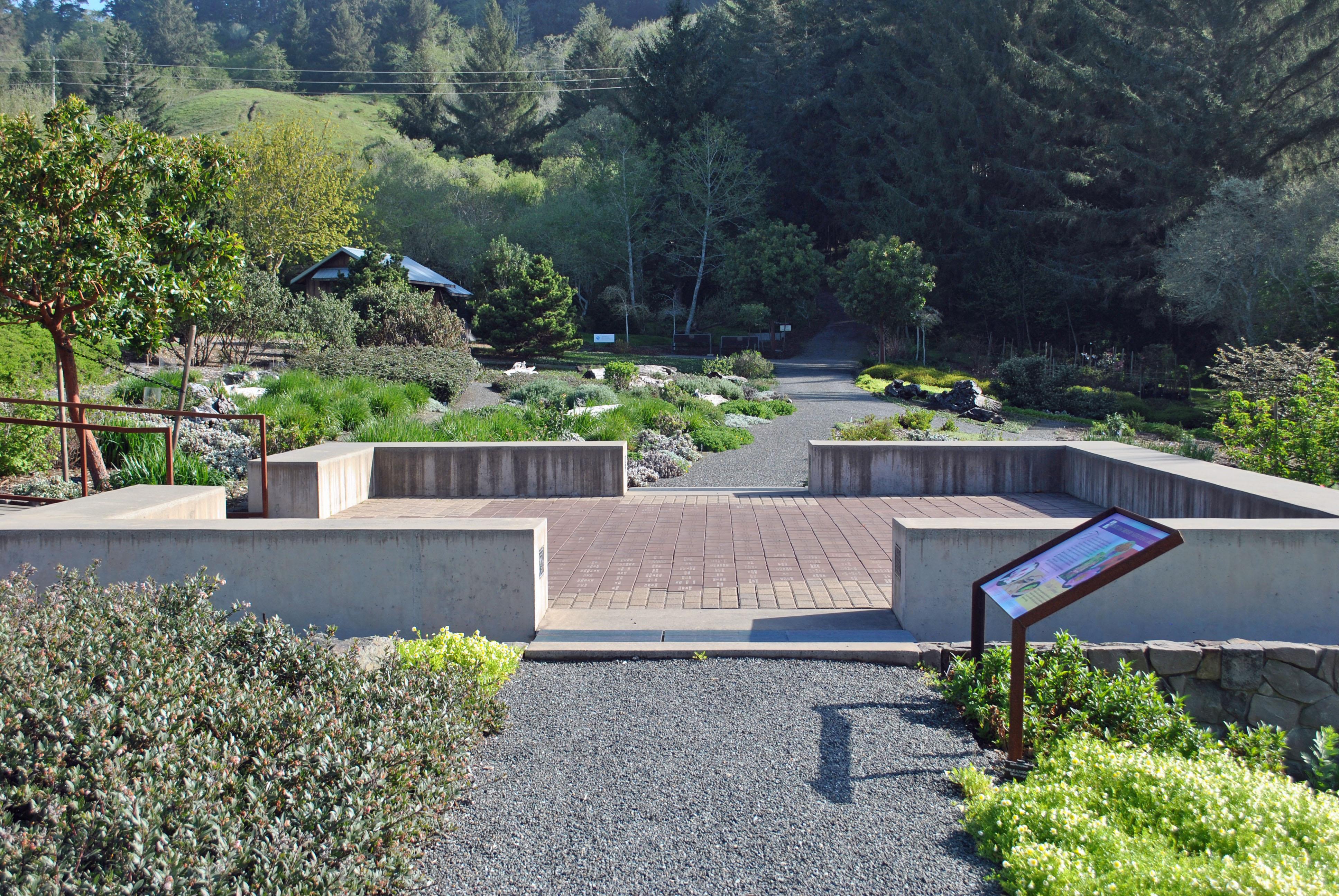 Garden Paver Plaza